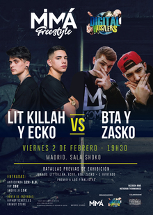 Lit killah & Ecko (Madrid)