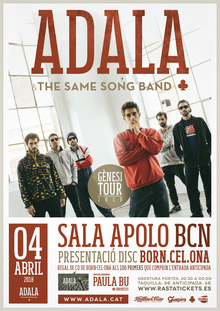 ADALA & THE SAME SONG BAND @ APOLO