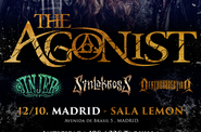 THE AGONIST + JINJER + Local , Sala Lemon - Madrid