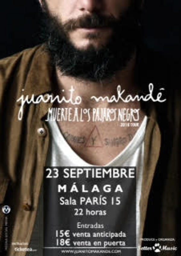 Tickets for juanito makande in m laga entradium for Juanito makande malaga