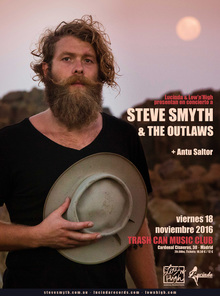 STEVE SMYTH & THE OUTLAWS EN MADRID