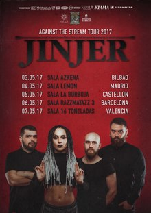 JINJER en Madrid