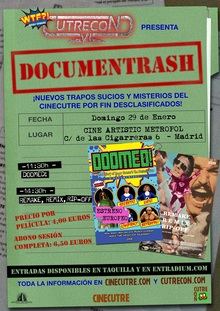 "CUTRECON VI DOCUMENTRASH: ""DOOMED!"" (2016) + ""REMAKE, REMIX, RIP-OFF"" (2014)"