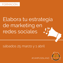 Campus Island - Elabora tu estrategia de marketing en redes sociales
