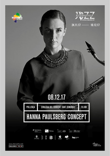 Hanna Paulsberg Concept - Alternatilla Jazz In Mallorca 2017