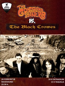THE GRASSLAND SINNERS Vs. THE BLACK CROWES