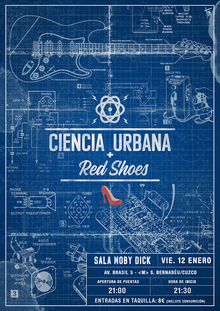 Ciencia Urbana + Red  Shoes en Moby Dick