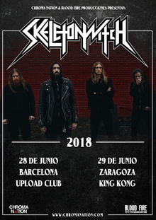 Skeletonwitch - Zaragoza 2018