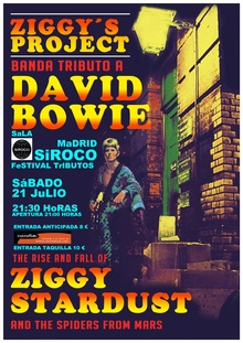 ZIGGY´S PROJECT. Tributo a DAVID BOWIE