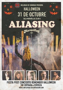 ALIASING en Concierto Halloween Remember