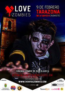 Love Zombies - Tarazona de la Mancha - Eventos LZD